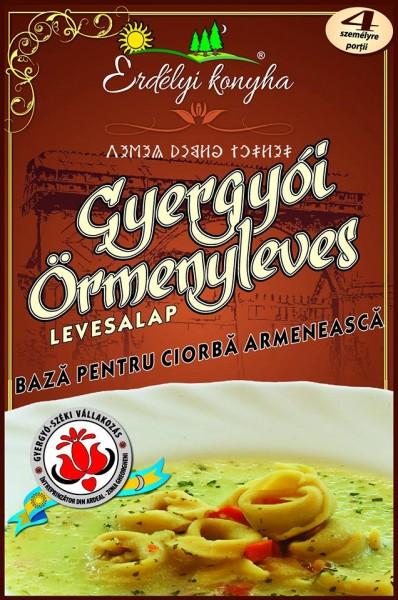 Gyergyói örmény leves alap - Örmény fülleves (Ángádzsábur) - churutos leves