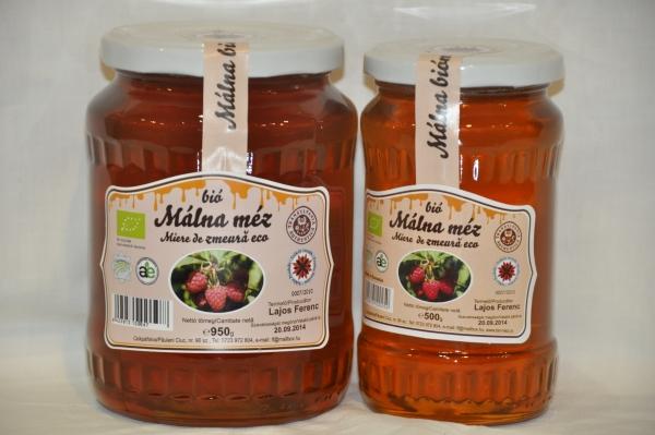 Erdélyi bio málna méz