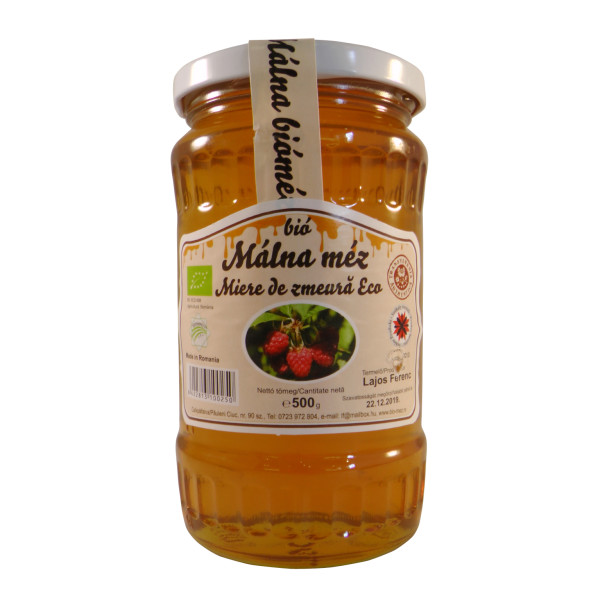 Bio málna méz