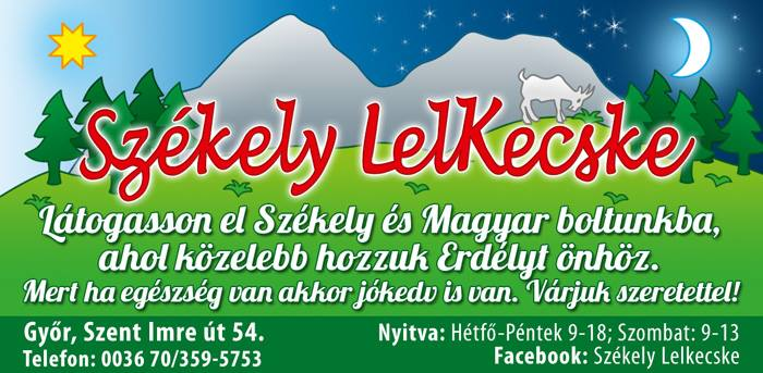 Székely Lelkecske Győr