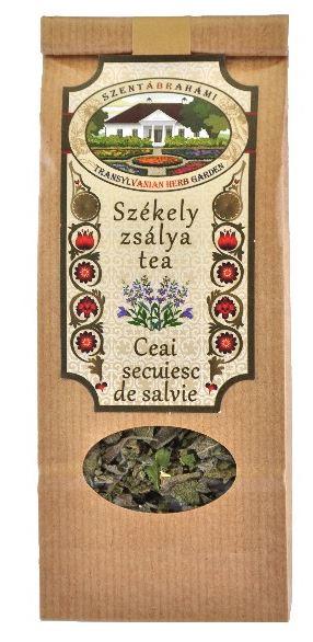 zsálya tea