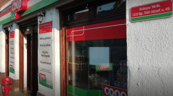 Coop ABC (Kiskapu)   1122 Budapest, Tóth József utca 49.